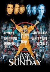 Rent Any Given Sunday on DVD