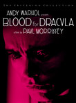Andy Warhol's Dracula (Blood for Dracula) poster